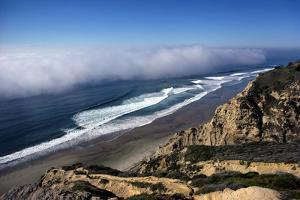 Fog Bank on the Pacific Ocean by Rick Doyle
