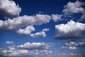 Puffy Clouds by Rick Doyle
