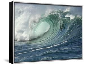 Shorebreak Waves in Waimea Bay by Rick Doyle