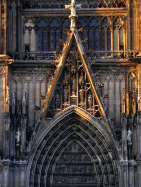 Facade of Cologne Cathedral, Cologne, Germany by Rick Gerharter
