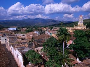 Rooftops of Town, Trinidad, Cuba by Rick Gerharter