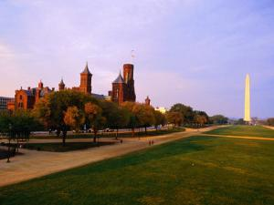 The Smithsonian Institute and Washington Mall, Washington Dc, USA by Rick Gerharter