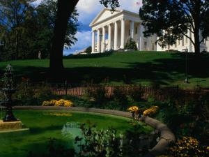 Virginia State Capitol Building and Gardens, Richmond, USA by Rick Gerharter