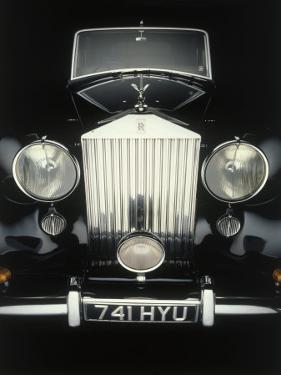 Front End of Old Rolls Royce by Rick Kooker