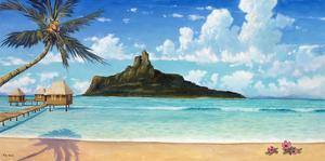 Bora Bora Sun by Rick Novak