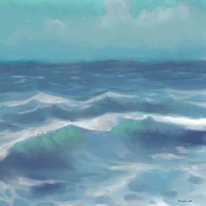Ocean Waves II by Rick Novak