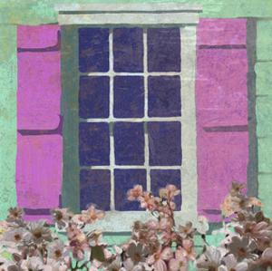 Window Floral II by Rick Novak