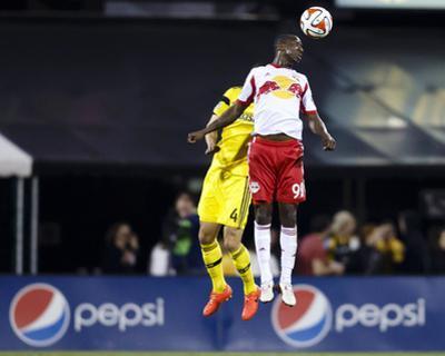 Apr 26, 2014 - MLS: New York Red Bulls vs Columbus Crew - Andre Akpan