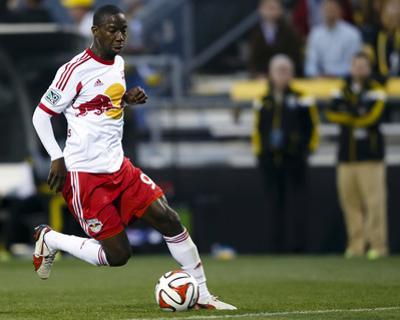 Apr 26, 2014 - MLS: New York Red Bulls vs Columbus Crew - Bradley Wright-Phillips
