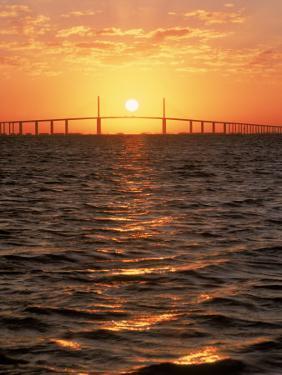 Sunshine Skyway Bridge, FL by Rick Poley