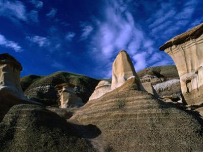 Badlands Formations Near Drumheller, Canada