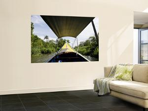 Boat on River by Rick Rudnicki