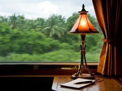 Orient Express Train Interior by Rick Rudnicki