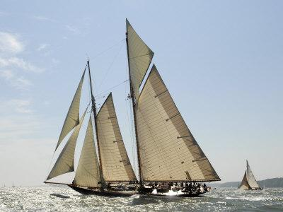 Mariette under Sail, Solent Race, British Classic Yacht Club Regatta, Cowes Classic Week, 2008