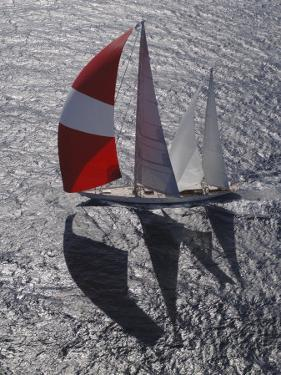 """Sy """"Adele"""", 180 Foot Hoek Design, at the Superyacht Cup Palma, October 2005 by Rick Tomlinson"""