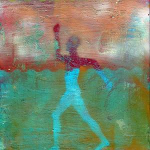 Marathon I Abstract by Ricki Mountain