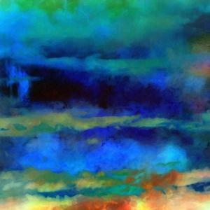 What a Color Art Series Abstract X by Ricki Mountain
