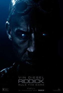Riddick (Vin Diesel, Karl Urban, Katee Sackhoff) Movie Poster