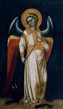 Archangel Michael by Ridolfo di Arpo Guariento