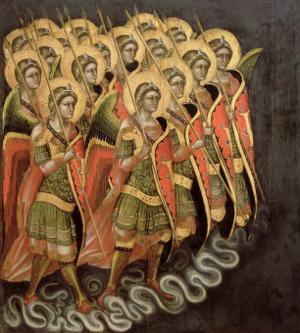 The Heavenly Militia, c.1348-54 by Ridolfo di Arpo Guariento