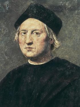 Portrait of Christopher Columbus by Ridolfo Ghirlandaio