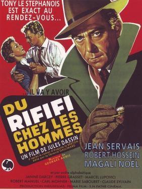"Rififi, 1955, ""Du Rififi Chez Les Hommes"" Directed by Jules Dassin"