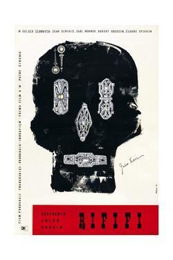 Rififi, Polish Poster Art, 1955