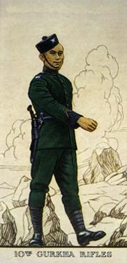 Rifleman of the 10th Gurkha Rifles, Indian Army, 1938