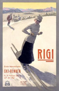 Rigi Ski, 1907