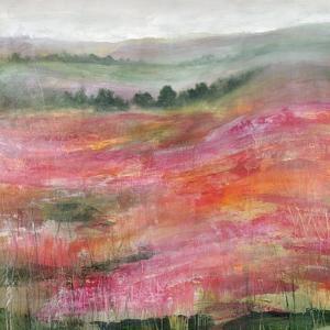 Raspberry Rolling Hills by Rikki Drotar