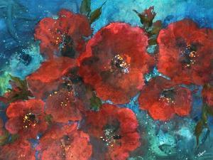 Winter Blossoms by Rikki Drotar