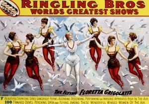Ringling Brothers: Flying Grigolatis Girls
