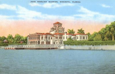 Ringling Mansion, Sarasota, Florida