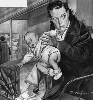 French Baby Stolen by Rino Ferrari