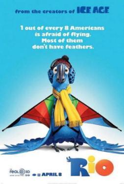 Rio (Anne Hathaway) Movie Poster