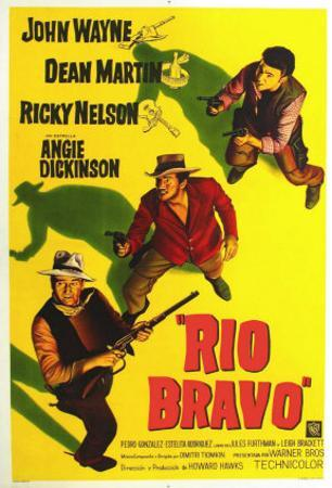 Rio Bravo, Australian Movie Poster, 1959