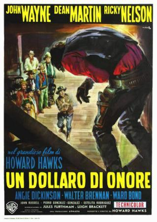 Rio Bravo, Italian Movie Poster, 1959