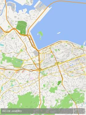 Rio de Janeiro, Brazil Map