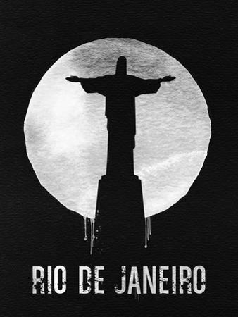 Rio De Janeiro Landmark Black