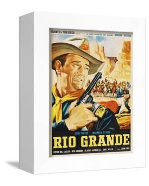 Rio Grande, Mexican Movie Poster, 1950