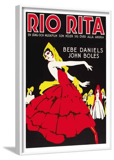 Rio Rita--Framed Art Print