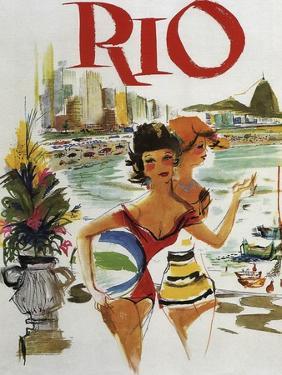 Rio Travel Poster