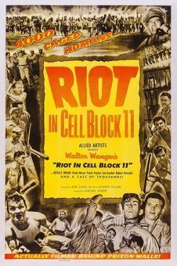 Riot in Cell Block 11, Neville Brand, (Bottom Right), 1954