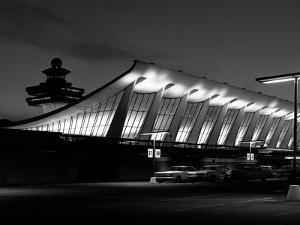 A Building at Dulles International Airport by Rip Smith