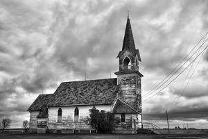 Old Timber Church by Rip Smith