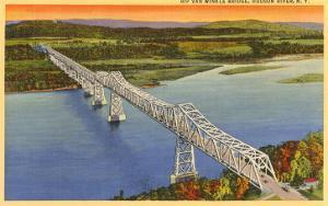 Rip Van Winkle Bridge, Hudson River, New York