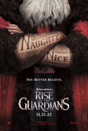 Rise of the Guardians (Hugh Jackman, Jude Law, Alec Baldwin) Movie Poster
