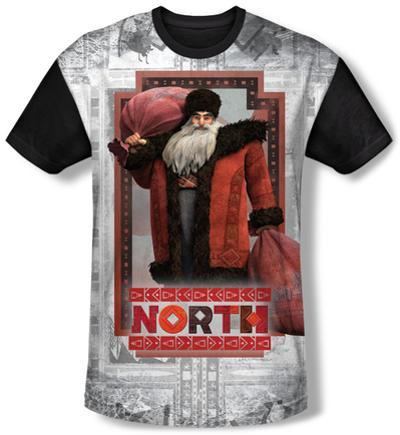Rise Of The Guardians - North (black back)