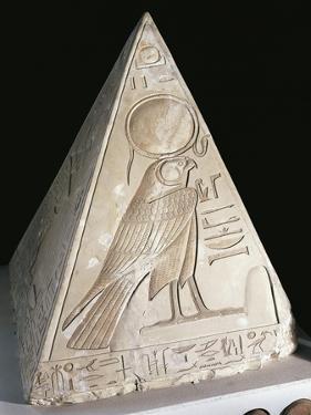 Rising Sun in Guise of Falcon God Ra-Harakhti