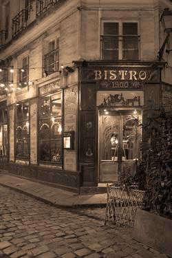 Paris Bistro I by Rita Crane